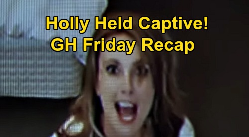 General Hospital Spoilers: Friday, September 18 Recap - Holly Held Captive - Avery Finds Nelle's Pendant - Mike's Stunning Gift
