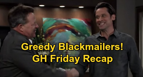General Hospital Spoilers: Friday, September 25 Recap - Neil's Bro Bans Alexis From Memorial - Liz & Franco Stick With Blackmail