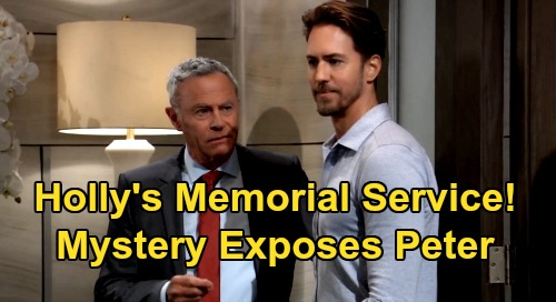 General Hospital Spoilers: Holly's Memorial Service Mystery, Robert's New Clues – Peter Exposed by Risky Situation