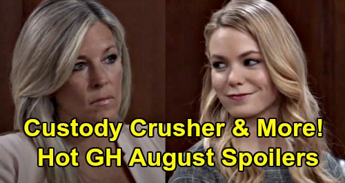 General Hospital Spoilers: Hot GH August Preview – Blooming Love, Exposed Secrets, Custody Crusher and Shocking Return