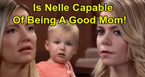 General Hospital Spoilers: Is Nelle Capable of Being a Good Mom to Wiley – Nurturing Nina Is Daughter's Only Hope?