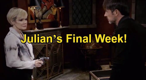 General Hospital Spoilers: Julian's Final Week On GH - William deVry Tweets About How Character Gets Killed