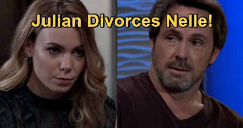 General Hospital Spoilers: Julian Annuls Nelle Marriage, Deal's Off – Risking Death by Sonny Better Than Having Nelle for a Wife
