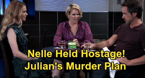 General Hospital Spoilers: Julian Holds Nelle Hostage, Murder Plan Moves Forward – Time Running Out for Blackmailer?