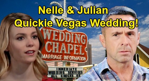 General Hospital Spoilers: Julian & Nelle's Quickie Vegas Wedding – Race Back to Custody Hearing for Bride's Bombshell Entrance