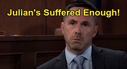 General Hospital Spoilers: Julian's Suffered Enough – Has Nelle's Miserable Husband Paid for His Mistakes?