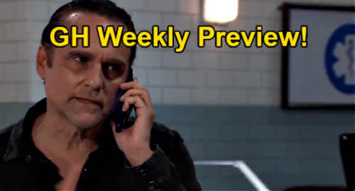 General Hospital Spoilers July 12 to July 16 Weekly Preview: Maxie's Exit Plan, Sonny's SOS Call and ELQ Bombshell