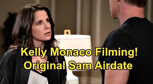 General Hospital Spoilers: Kelly Monaco's Return Confirmed, Filming at GH Again – Lindsay Hartley Out, Original Sam Back In