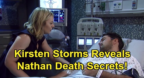 General Hospital Spoilers: Kirsten Storms Reveals Secrets About Nathan's Death – Reflects on Maxie's Darkest Days