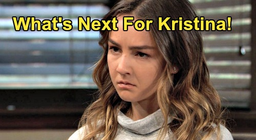 General Hospital Spoilers: What's Next for Kristina – Love Interest, Family Drama and New Storyline Needed in 2020