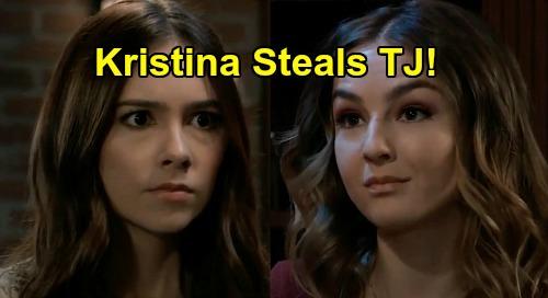 General Hospital Spoilers: Kristina Steals TJ After Molly & Brando Secret Explodes - Sister Swap Port Charles Scandal?