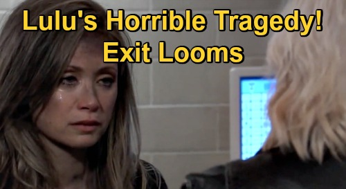 General Hospital Spoilers: Lulu's Horrible Tragedy, Emme Rylan's Exit Looms – Heartbreaking End to Brutal Story