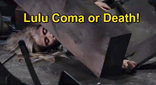 General Hospital Spoilers: Lulu's Long-Term Coma or Death – Laura & Dante Argue About Whether to Pull the Plug?