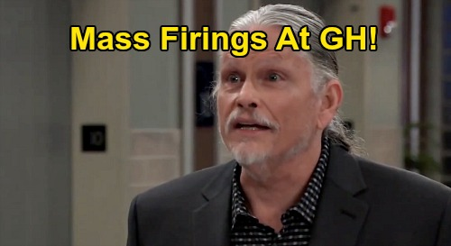 General Hospital Spoilers: Mass Firings at GH, Cyrus Forces Major Hospital Staff Shakeups – Who Gets the Boot and Who Gets the Blame