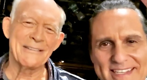 General Hospital Spoilers: Maurice Benard Talks With Max Gail on Behind The Scenes Video - Shares Mike Corbin GH Goodbye