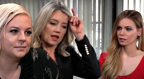 General Hospital Spoilers: Maxie and Nelle Face Off Over Bio Daughter Bomb – Nina's Heart at Risk, Maxie's Fierce Warning