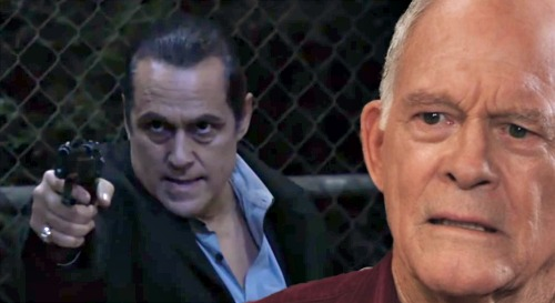General Hospital Spoilers: Mike's Ghost Visits Dying Sonny - Julian Faceoff Goes Wrong, Pushes Son to Survive?