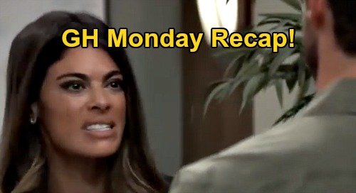General Hospital Spoilers: Monday, August 10 Recap - Brando Lies To Sonny - Sam's Deal With The Devil - Jordan Defends Cyrus