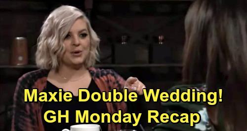 General Hospital Spoilers: Monday, December 7 Recap - Willow Still Loves Chase - Maxie Double Wedding - Franco Headed To Geneva