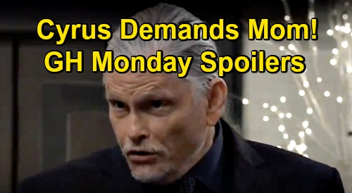 General Hospital Spoilers: Monday, January 4 – Cyrus Demands Missing Mother from Jason – Jax Wants Josslyn Out of the Country