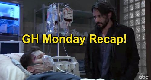 General Hospital Spoilers: Monday, November 23 Recap - Dev & Dustin Die - Laura's a Murderer - Julian Tries To Confess