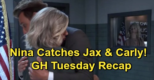 General Hospital Spoilers: Monday, October 19 Recap - Nina Catches Jax Comforting Carly - Alexis Tests Limits With Sam