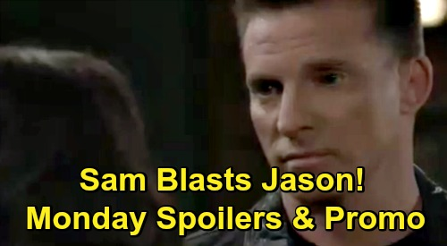 General Hospital Spoilers: Monday, October 26 – Dante Warns Maxie of Big Peter Mistake – Anna's Faison Brain Plan – Sam Blasts Jason