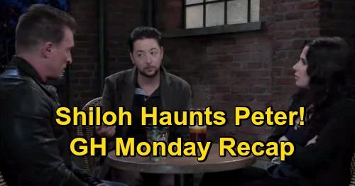 General Hospital Spoilers: Monday, October 26 Recap - Alexis Blasts Julian - Shiloh Haunts Peter - Anna Needs Kevin's Help