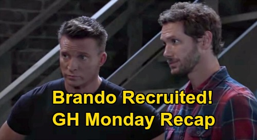 General Hospital Spoilers: Monday, October 5 Recap - Ava Visits Ryan - Jason & Sonny Turn Brando Into Double Agent