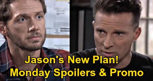 General Hospital Spoilers: Monday, September 21 – Cyrus' Creepy Laura Fascination – Curtis' Angry Meltdown – Jason & Brando's New Plan