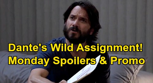General Hospital Spoilers: Monday, September 28 – Dante's Wild Assignment Details - Nina Reacts to Nelle's Death – Martin Mugged
