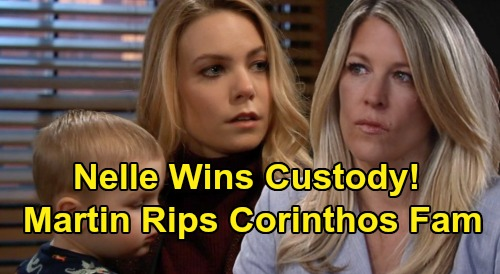 General Hospital Spoilers: Nelle's Big Wiley Custody Win, Dramatic Courtroom Performance - Martin Rips Corinthos Fam to Shreds?