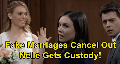 General Hospital Spoilers: Nelle & Michael's Last-Minute Marriage Ploys Cancel Each Other Out – Nelle Still Gets Custody?