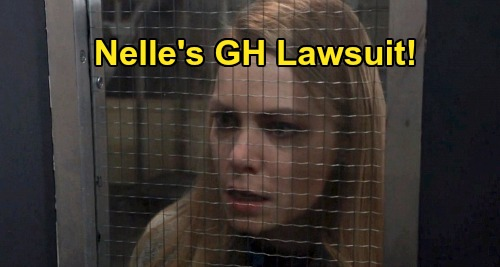 General Hospital Spoilers: Nelle Moves Forward With General Hospital Lawsuit - Alliance With Julian Strengthens Her Case