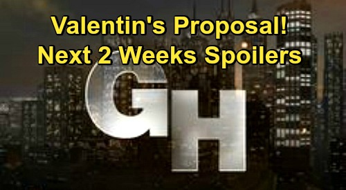 General Hospital Spoilers Next 2 Weeks: Carly Losing It – Valentin's Proposal – Halloween & Election Episodes – Dante Steps Up for Lulu