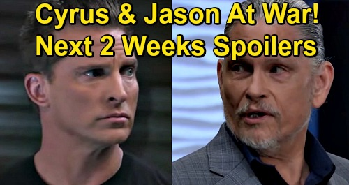 General Hospital Spoilers Next 2 Weeks: Cyrus & Jason's Fierce Faceoff – Sasha Consoles Michael Over Sonny – Peter Threatens Sam