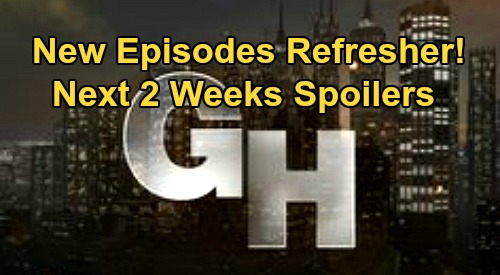 General Hospital Spoilers Next 2 Weeks: GH Gears Up To Air New Episodes - Sasha Drug Battle – Nelle Bride Bomb – Maxie Pregnancy