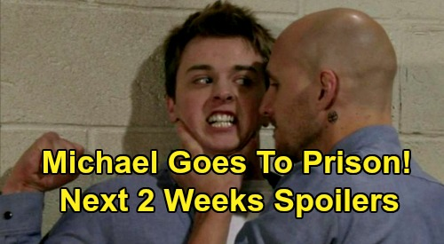 General Hospital Spoilers Next 2 Weeks: Michael's Murder Confession & Prison Sentence – Kristina Admits Parker Truth to Sonny