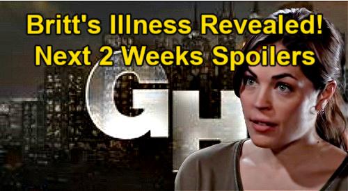 General Hospital Spoilers Next 2 Weeks: Britt Admits Illness to Jason – Death Strikes – Maxie Betrayed – Sam's Risky Move