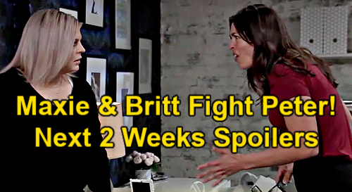 General Hospital Spoilers Next 2 Weeks: Maxie & Britt Takedown Peter - Nina Robs Sonny's Family - Bad Boy Cameron