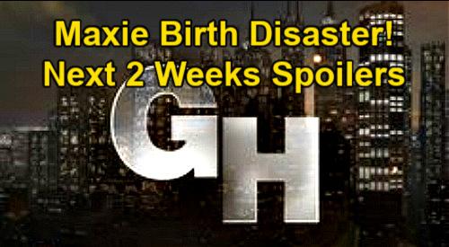 General Hospital Spoilers Next 2 Weeks: Maxie's Baby Birth Disaster - Roger Howarth Returns – Nina In Danger