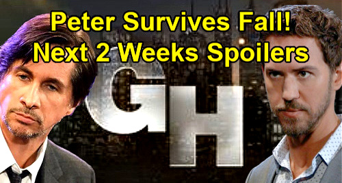 General Hospital Spoilers Next 2 Weeks: Peter Survives Fall – Maxie Fakes Dead Baby Grief – Wildcard Cyrus Spins Out