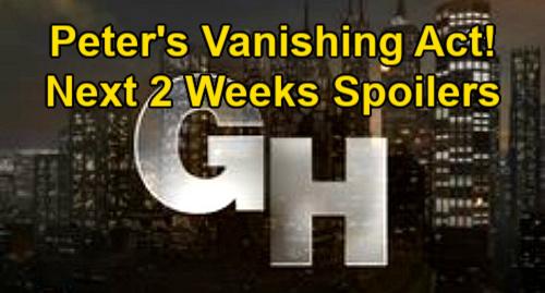 General Hospital Spoilers Next 2 Weeks: Peter's Freezer Vanishing Act – Josslyn Sudden Danger – Spencer's Wild Wyndemere Bash