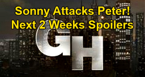 General Hospital Spoilers Next 2 Weeks: Sonny Leaps Into Action Against Peter – Carly Makes Jason Husband