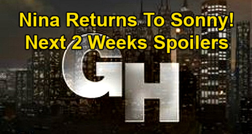 General Hospital Spoilers Next 2 Weeks: Sonny Summons Nina – Britt & Spencer Reunite – Anna Suspects Finn – New Louise Lead