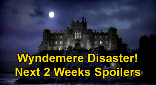 General Hospital Spoilers Next 2 Weeks: Wyndemere Dinner Party Disaster - Nina Clings to Sonny - Maxie & Brook Lynn Team Up
