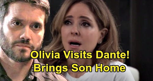 General Hospital Spoilers: Olivia Visits Dante - Brings Son Home In Unexpected Outcome?