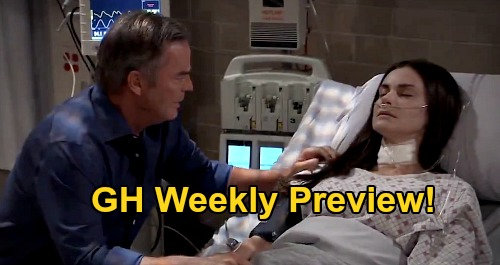 General Hospital Spoilers Preview: Week of August 24 - Portia Reveals Brook Lynn's Condition - Desperate Race To Find Wiley