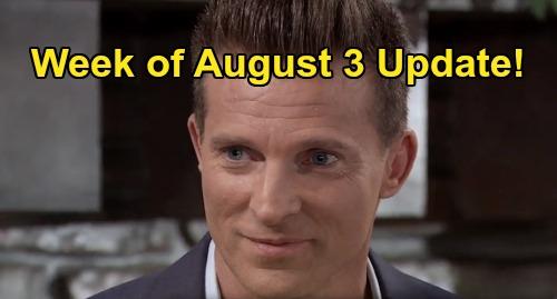 General Hospital Spoilers Preview: Week of August 3 Update - Custody Shocker - Sonny's Mike Devastation - Cyrus & Brando