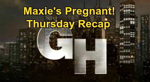 General Hospital Spoilers Recap: Thursday, May 21 – Maxie's Pregnant – Nina Testifies the Truth - Julian Dead to Lucas and Sam
